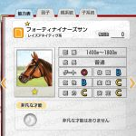 【ダビマス】フォーティナイナーズサンと見事な配合となる牝馬を作成する