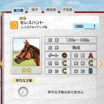 【ダビマス】セレスハントと見事な配合となる牝馬を作成する