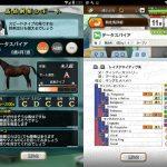 【オリジナル産駒】ティンバーカントリー x データサンバ(オリジナル産駒)