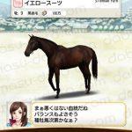 【ダビマス】イエロースーツと見事・完璧な配合となる種牡馬を作成する