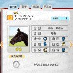 【ダビマス】エーシントップと見事な配合となる牝馬を作成する