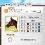 【ダビマス】ドリームジャーニーと見事・完璧な配合となる牝馬を作成する