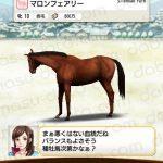 【ダビマス】マロンフェアリーと見事な配合となる種牡馬を作成する