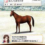 【ダビマス】ヨイノユキヤナギ-2代で完璧な配合になる組み合わせ