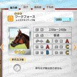 【ダビマス】ワークフォースと見事・完璧な配合となる牝馬を作成する