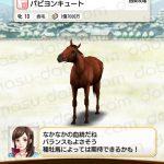 【ダビマス】パピヨンキュートと見事・完璧な配合となる種牡馬を作成する
