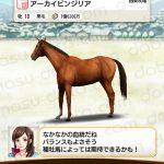 【ダビマス】アーカイビンジリアと見事・完璧な配合となる種牡馬を作成する