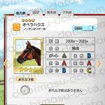 【ダビマス】オペラハウスと見事・完璧な配合となる牝馬を作成する