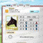【ダビマス】ラブリーデイと見事な配合となる牝馬を作成する