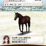 【ダビマス】アクアシャンティーと見事・完璧な配合となる種牡馬を作成する