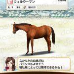 【ダビマス】ウィルウーマンと見事な配合となる種牡馬を作成する