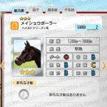 【ダビマス】メイショウボーラーと見事な配合となる牝馬を作成する