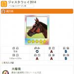 【ダビマス】ジャスタウェイ2014と見事な配合となる牝馬を作成する