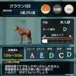 【危険な配合】ハルウラライベントのための馬作成が・・・