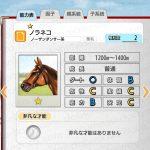 【ダビマス】ノラネコと見事な配合となる牝馬を作成する