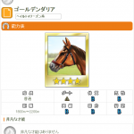 【ダビマス】ゴールデンダリア おすすめ配合表