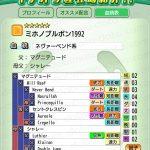 【ダビマス】ミホノブルボン1992 おすすめ配合表